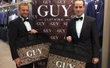 Conor Sheridan and John Allen get suited and booted at Guy Clothing, Tullamore