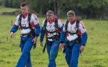 Offaly GAA players skydive for local charity
