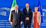 Midlands MEP welcomes Taoiseach to European Parliament