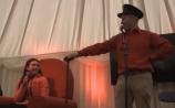 WATCH: Bus Éireann recreates Graham Norton's 'Big Red Chair' at Ploughing 2018