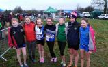 Tullamore Harriers athlete medals at All Ireland Cross Country Championships