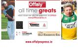 VOTE: Offaly All Time Great quarter-final: Shane Lowry v Mick McDonagh