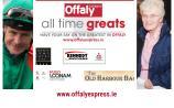 VOTE: Offaly All Time Great quarter-final: Pat Smullen v Sister Jenny