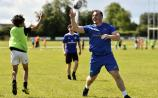 PICTURES: Offaly man and Leinster Rugby star delights kids at summer camp
