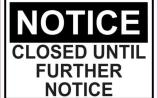 Telfords closed amid new coronavirus restrictions
