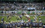 Update on College Football season opener between Notre Dame and Navy