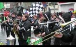 VIDEO: Clara Town Band shine in the rain at Limerick International Band Championships