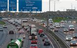 Stretch of M50 closed due to early morning crash