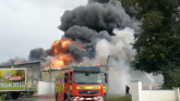 UPDATE: Public told to 'avoid area' as firefighters tackle Glenisk plant fire in Offaly