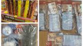 GALLERY: Two men arrested as gardai in Midlands seize cash, drugs and fireworks
