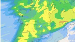 Met Éireann rain weather alert also warns of snow and sleet