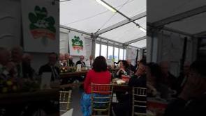WATCH: Anna May McHugh asks Bishop to 'pray for fine weather' at Carlow Ploughing