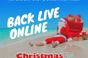 Christmas FM returns to the airwaves this week – Yes, we know it's July…