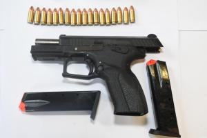 Second hand-gun in a week seized in a  week on Offaly border after Garda search