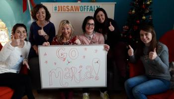 Offaly woman walking home for Christmas for very special reason