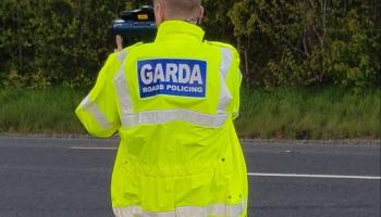 Motorist on road into Offaly town caught at more than double the speed limit