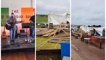 WATCH: Tullamore's Old Harbour Bar literally rocked the roof if its stand at Ploughing 2018