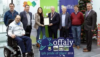 Three outstanding Offaly Community Groups honoured by County Council