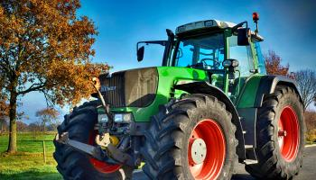 Warning to road users about more tractors and machinery on roads