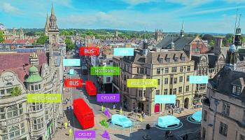 Ford trials tech to help foresee   traffic incidents and  improve road safety