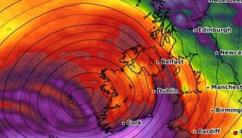 Met Eireann issues weather warnings as stormy weather set to hit Ireland in coming days