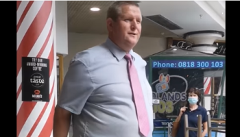 WATCH: John Cusack marks 25 years as Bridge Centre manager in Tullamore