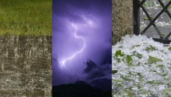Ireland Weather WEATHER WARNING: Met Eireann puts Ireland on alert for severe weather with thunder, lightning and hail in the forecast