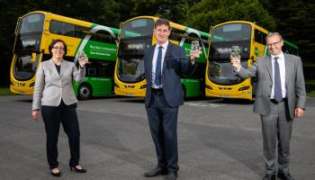 Hydrogen-powered bus to be tested on Irish roads