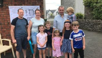 Vision launched of community hall in Laois village