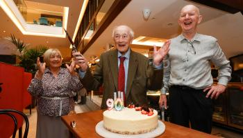 WATCH: Offaly man gets surprise from Bewleys after 59 years as customer