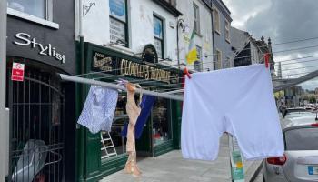 That's pants! Tullamore shop encounters unique underwear problem