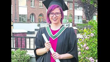 Offaly student graduates with incredible double degree