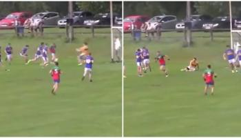 WATCH: Offaly U20 star scores stunning goal for club in senior championship