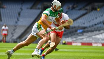 Offaly senior hurling star's season ends with nightmare cruciate injury