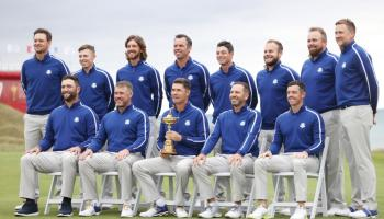 WATCH: Shane Lowry and European team get his first look at Whistling Straits ahead of the Ryder Cup