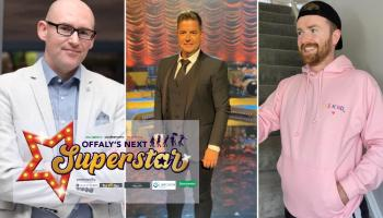 Three judges confirmed for Offaly's Next Superstar competition