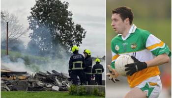 Devastation as former Offaly footballer's house burns down