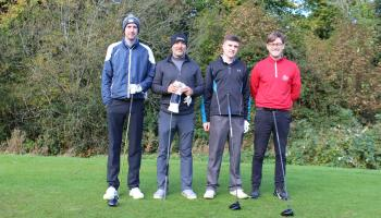 A team at the Offaly Association in Dublin golf classic for Offaly GAA.