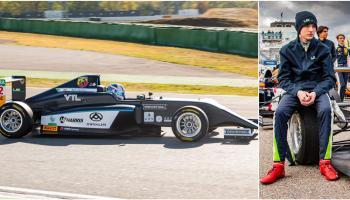 Offaly Formula 1 hopeful shines again at famous circuit