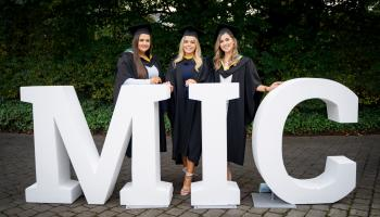 Offaly students graduate from university in style
