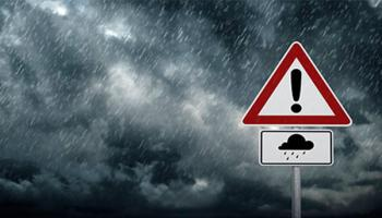 Met Éireann issue warning with horrendous weather to hit today