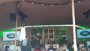 WATCH| Diarmuid Gavin teaches Katherine Thomas all about gardening