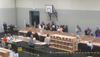 WATCH: The bedlam that ensues when four candidates are elected at the one time in a Local Election