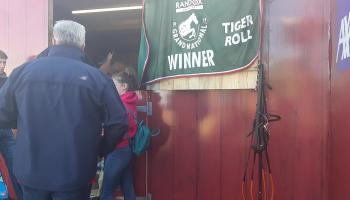 WATCH| Crowds meet Grand National winner Tiger Roll
