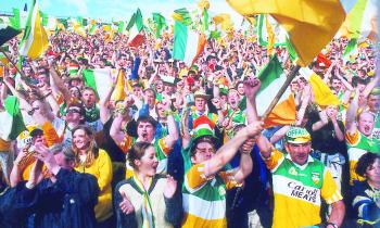 MEMORY LANE SPECIAL: Offaly fans on tour at the 1998 All Ireland Senior Hurling Final