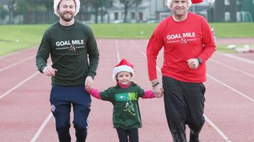 Neil Delamere urging young and old to attend Offaly GOAL Miles