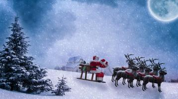 The weather forecast for Christmas in Offaly