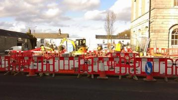 Edenderry Town Square works met with strong opposition