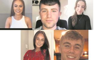 Offaly students win DCU scholarships for academic excellence
