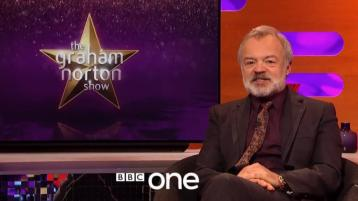 Here's the line-up for this week's Graham Norton Show on BBC One